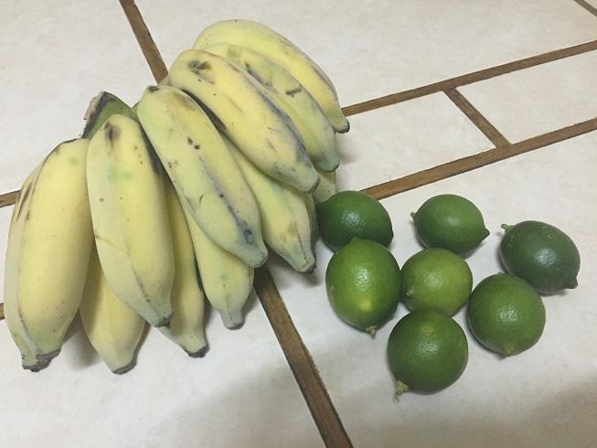このバナナ、10ペソ、約50円
