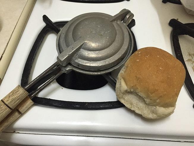 これでパンをトーストする