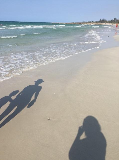グアナボのビーチ