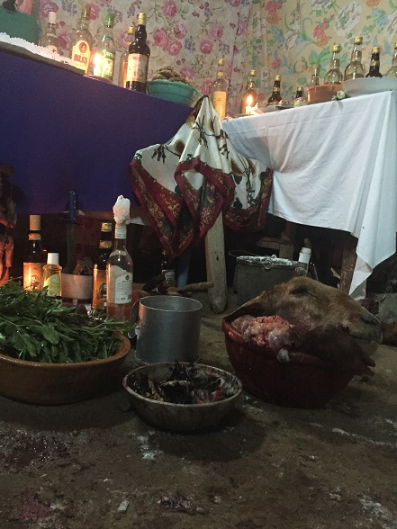 サンテリアの祭壇